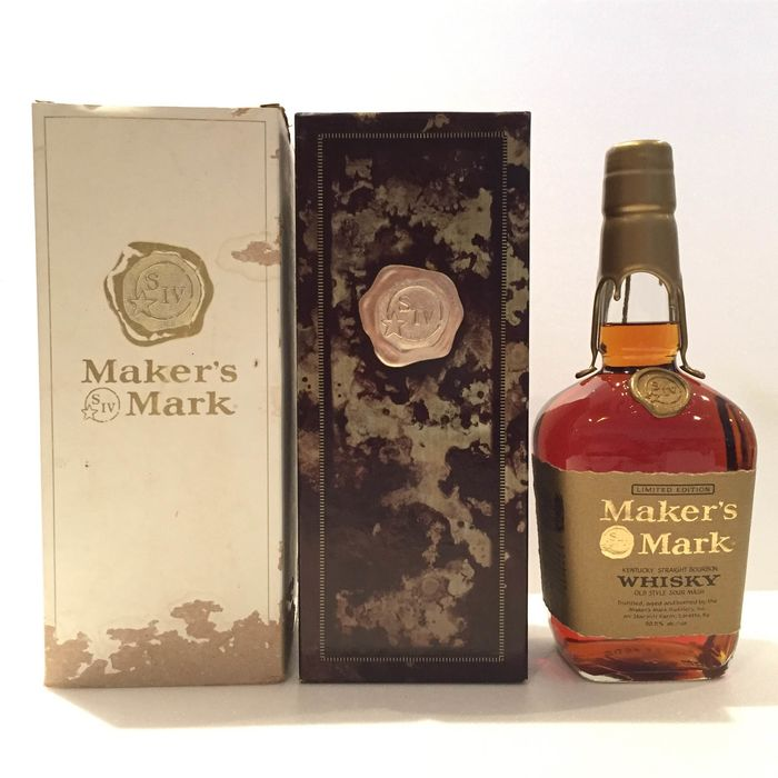Maker's Mark Limited Edition - Gold Wax - Official bottling - 750 ml