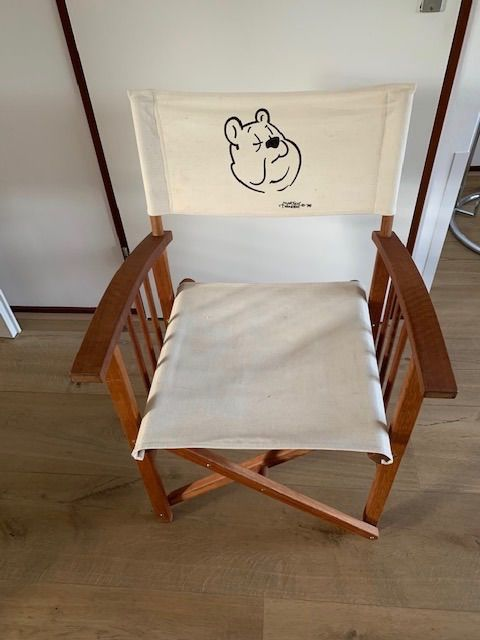 Marten Toonder director's chair - Wood and dust