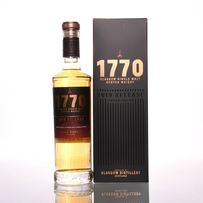 Glasgow Distillery 1770 Single Malt Scotch Whisky 2019 Release Limited Edition - 500ml