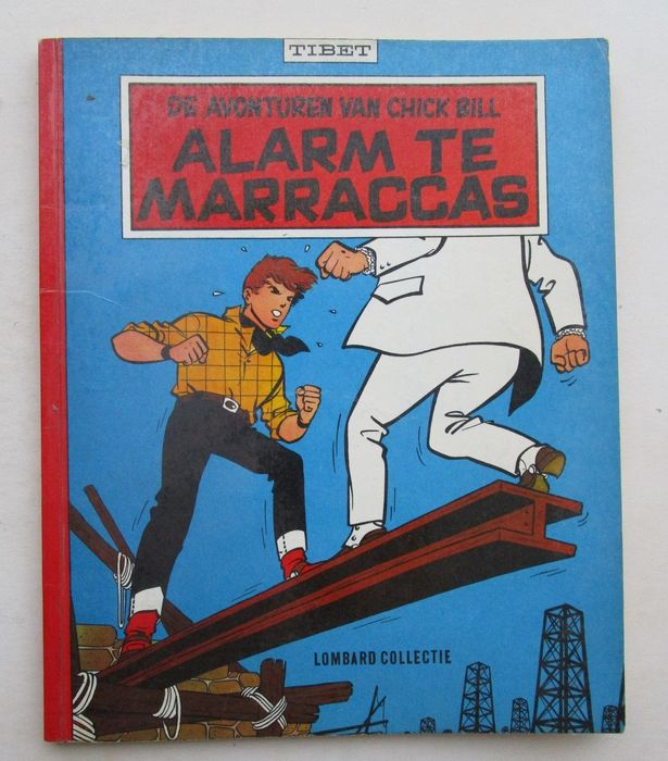 Lombard Collectie 56 - Chick Bill - Alarm te Marraccas - Softcover - First edition - (1961)