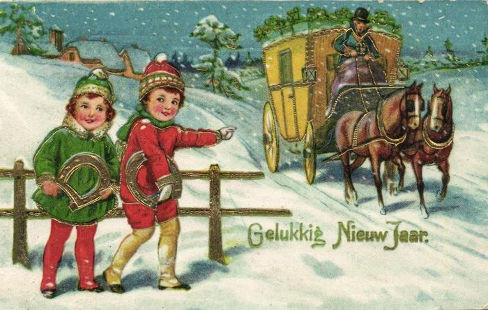 Children - Fantasy greeting cards with children - mostly drawn a few exceptions - Postcards (124) - 1910-1950