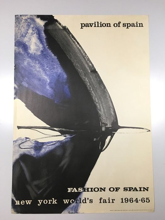 Various - PAVILION OF SPAIN.  FASHION OF SPAIN. NEW YORK WORLD'S FAIR  - 1964