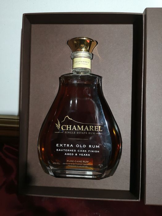 Chamarel 8 years old - Extra Old Rum - Sauternes Finish - b. 2017 - 70cl