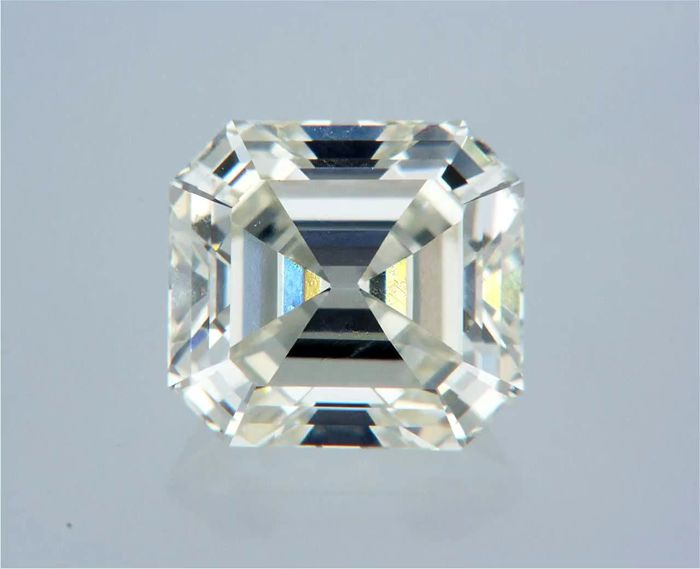 1 pcs Diamante - 1.01 ct - Asscher - J - VVS1