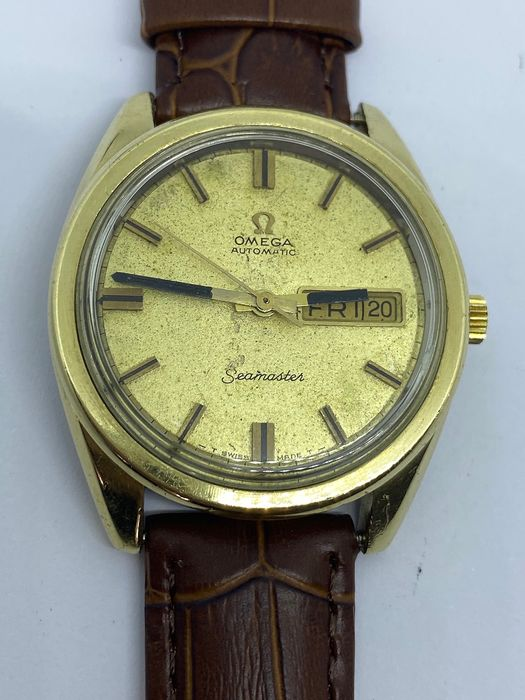 Omega - Seamaster date-day - 166032 cal 750 - Homme - 1970-1979
