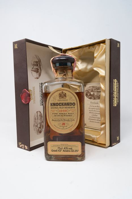 Knockando 1962 Extra Old Reserve - Official bottling - b. 1984 - 75cl