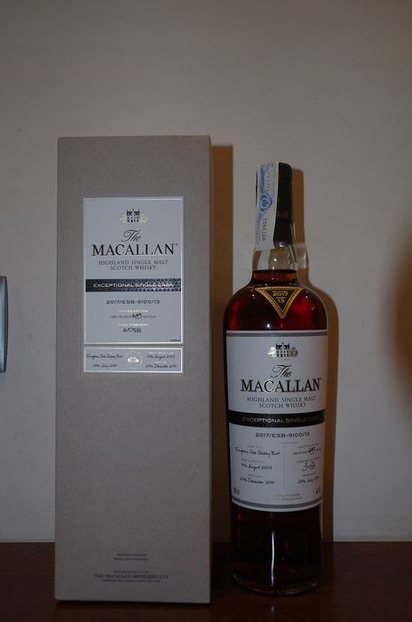 Macallan 2003 Exceptional single cask 2017/ESB-9100/13 - One of 649 bottles - 70cl