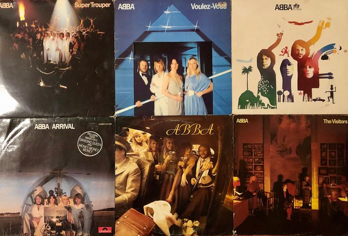 ABBA - Lot Of 6 Great Albums - Diverse Titel - LP's - 1975/1981
