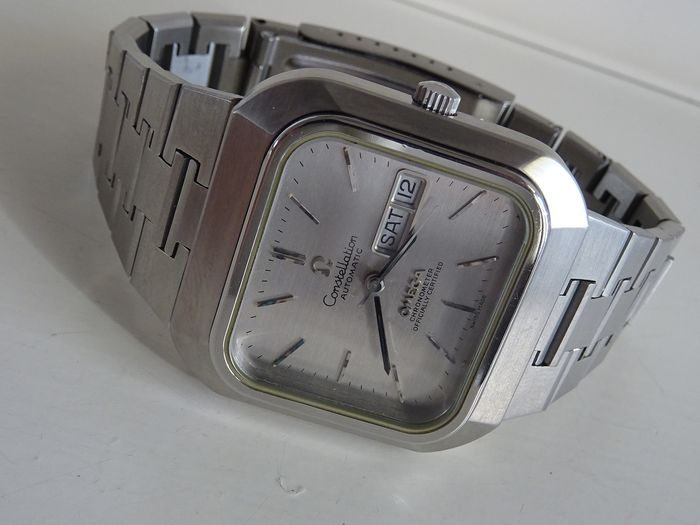 Omega Constellation staal - Officially certified chronometer day date - Homme - 1970-1979