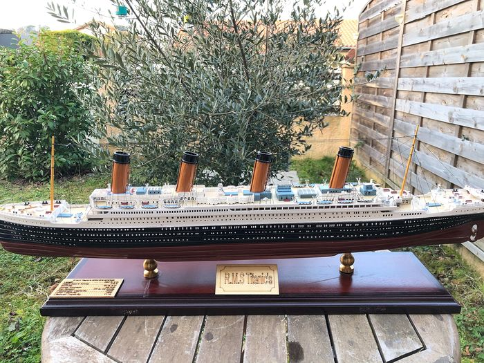 Scale ship model - Wood - 2018