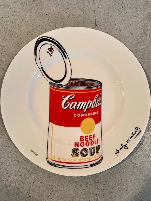 Andy Warhol (after) - Campbell's Soup Can (Beef Noodle)