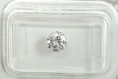 Diamante - 0.70 ct - Redondo - D (incolor) - SI2, No Reserve Price