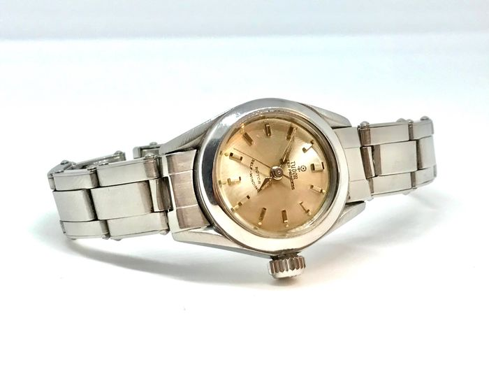 Tudor - lady 26 mm 7980 automatic steel rare Rolex  - 7980 - Femme - 1960-1969