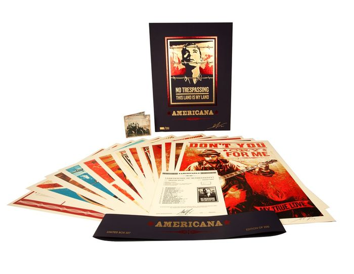 Shepard Fairey (OBEY) x Neil Young - Americana Box Set
