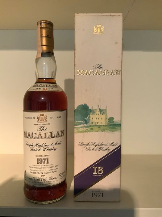 Macallan 1971 18 years old - 75cl