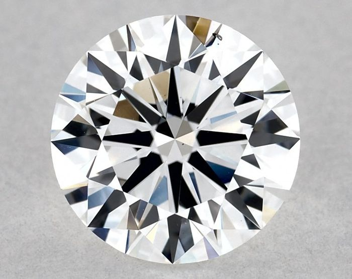 1 pcs Diamant - 1.03 ct - Rond - E - SI1, GIA - VG/EX/VG - Low Reserve Price