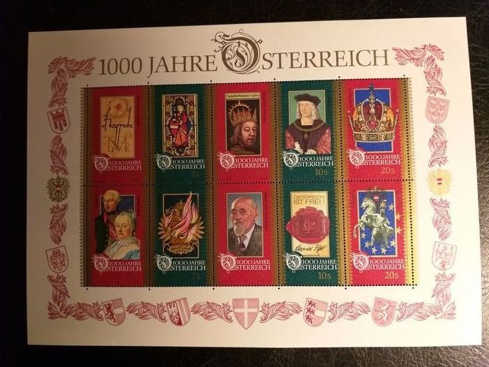 Austria 1981/2002 - A very complete collection