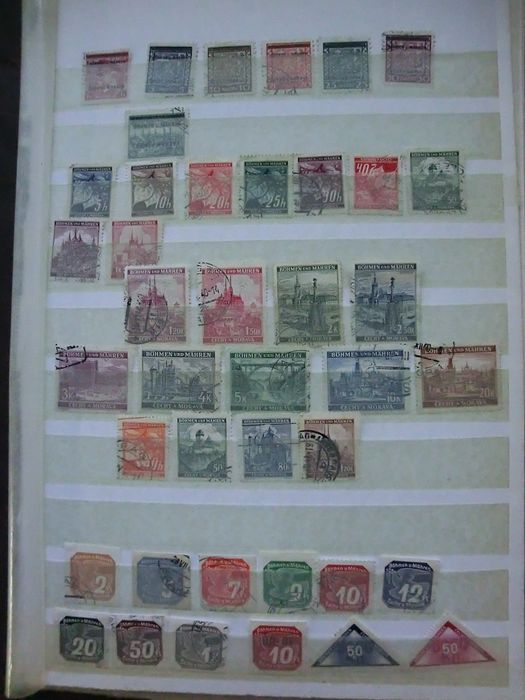 Generalgouvernement 1939/1945 - And Bohemia and Moravia collection on loose stock pages