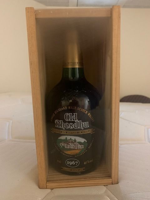 Old Rhosdhu  1967 - Original bottling - b. 1999 - 70cl