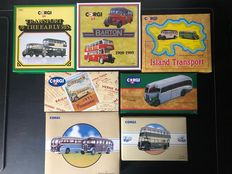 Corgi - 1:50 - lot 18 pcs public Transport buses