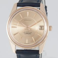 Longines - Conquest Automatic Rose Gold 18k - 9045 - Unisex - 1960-1969