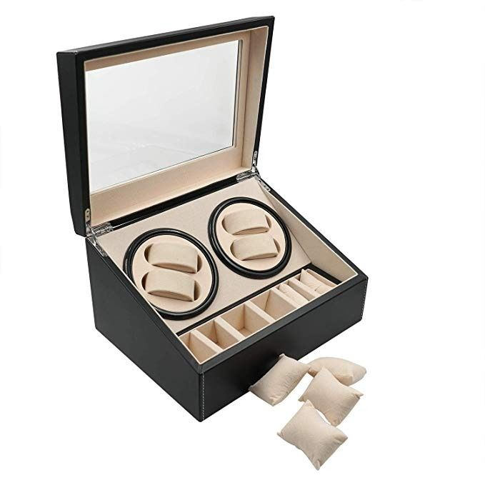 Preview of the first image of Luxurious - Watch winder 4 + 6 watches - 2011-present.