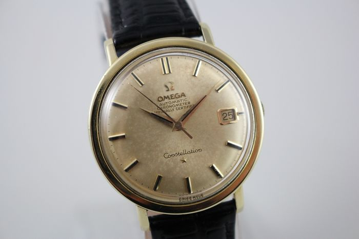 Omega - Constellation Chronometer Luxury Dress Automatic Cal.561 Wristwatch - 168.004 - Hombre - 1960-1969