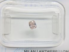 1 pcs Diamante - 0.15 ct - Almofada - fancy pink - SI2