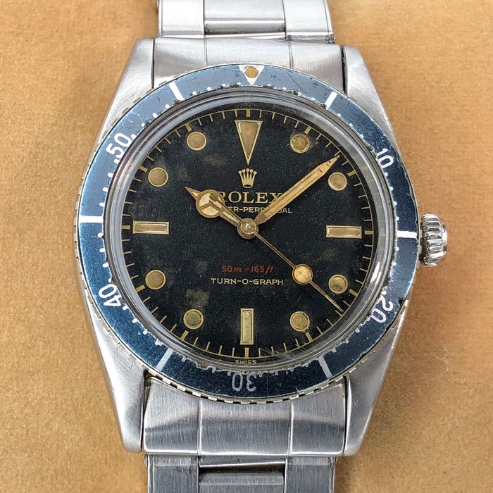 Rolex - Turn-O-Graph Red Depth Rating - 6202 - 男士 - 1950-1959