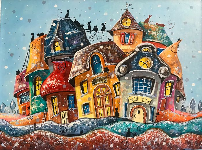 Nataly Grinchenco - Once in the city of cats