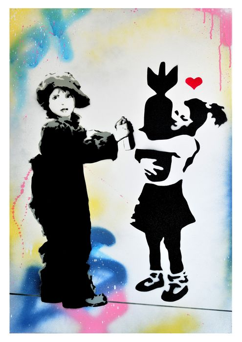 BASM  -  The little Banksy