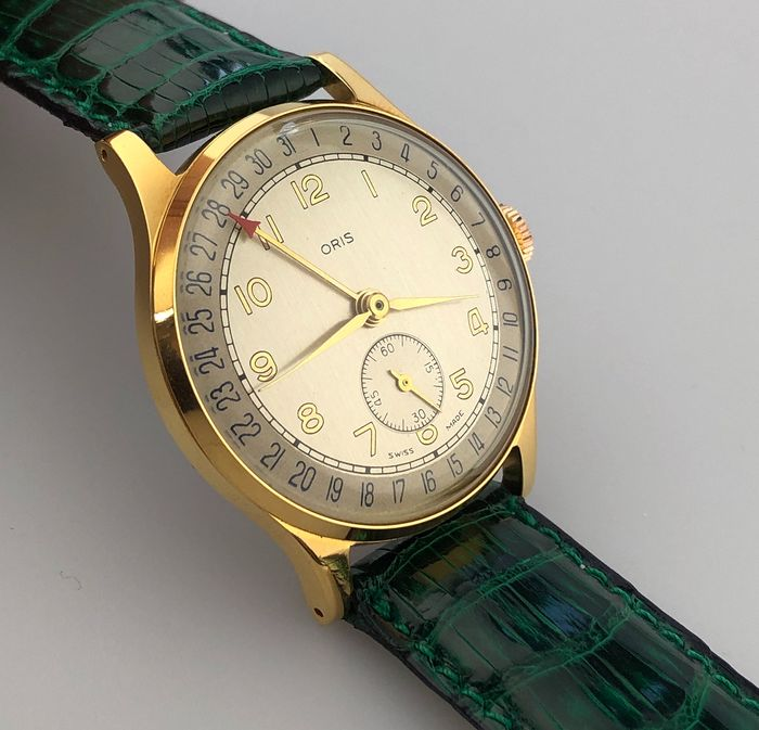 """Oris - New Old Stock Pointer Date - """"NO RESERVE PRICE"""" - Homme - 1950-1959"""