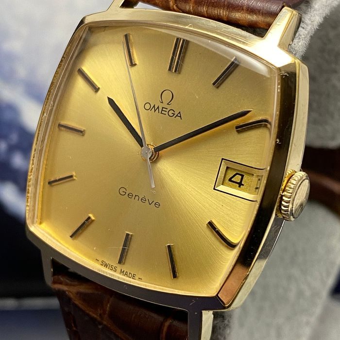 """Omega - Geneve Cal. 1030 - """"NO RESERVE PRICE"""" - 132..0052 - Homme - 1960-1969"""