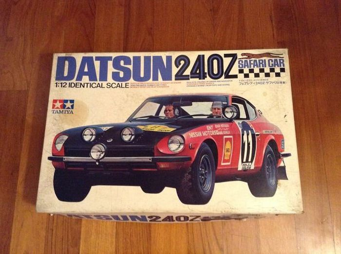 Tamiya - 1:12 - ref. #12008 Datsun 240Z Coupe' winner and second Safari Rally 1971  - très bonne qualité - kit vintage