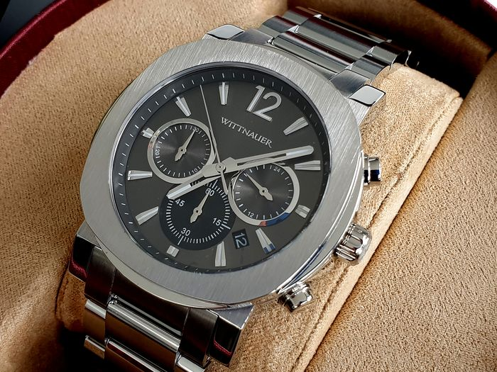 Wittnauer - Chronograph with thick deployment bracelet - Herren - 2020