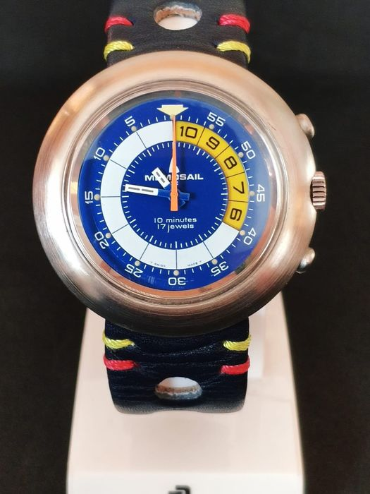 """V.I.P.  Memosail - The Olympic Yachtsmans Chronograph - """"NO RESERVE PRICE"""" - Homme - 1970-1979"""