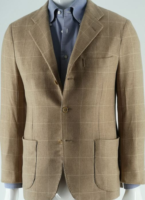 Kiton - Jacket - Size: EU 46 (IT 50 - ES/FR 46 - DE/NL 44)