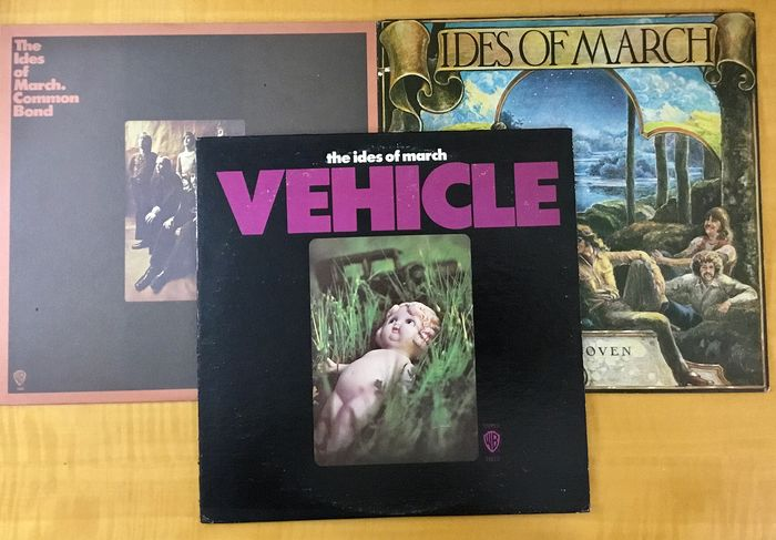 The Ides of March  - Collection of their first 3 Lp Albums - US - First Releases. 1970 - 1972. - LP's - 1970/1972