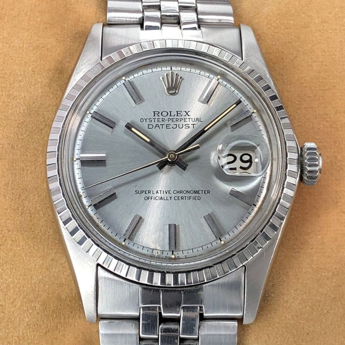 Rolex - Datejust Grey Dial - 1603 - Men - 1960-1969
