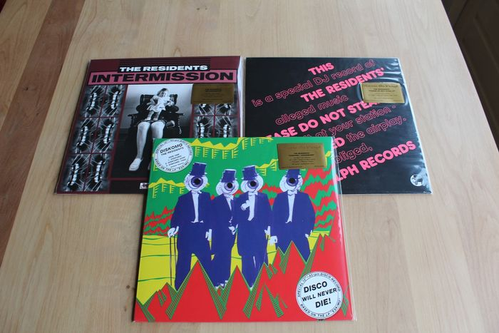 "The Residents - 3x  Sealed Vinyl Collection - Multiple titles - LP's, Maxi single 12""inch - 2017/2017"