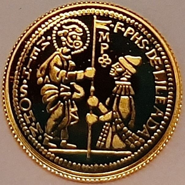 Malta - 5 Euro 2014 'The Zecchino' - with Certificate of Authenticity - Gold
