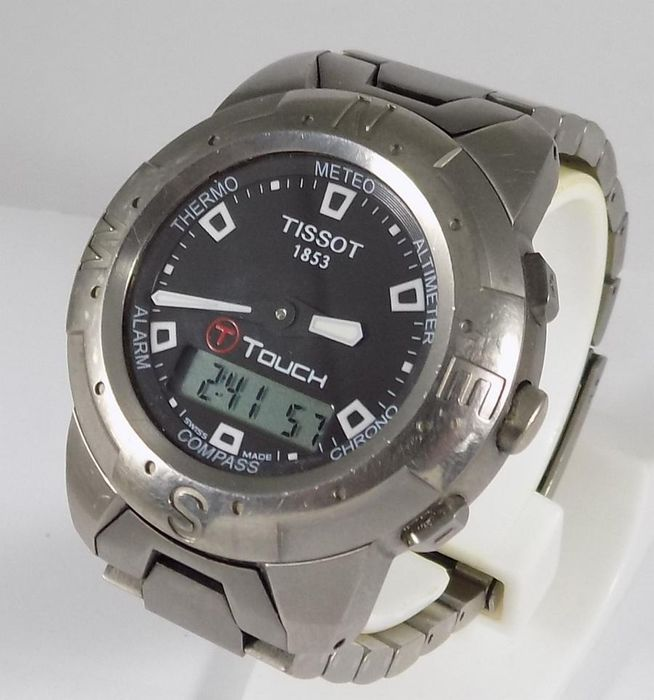 Tissot - T-Touch - Multifunctional - Touch Screen - Titanium - Z 252/352 - Homme - 1990's