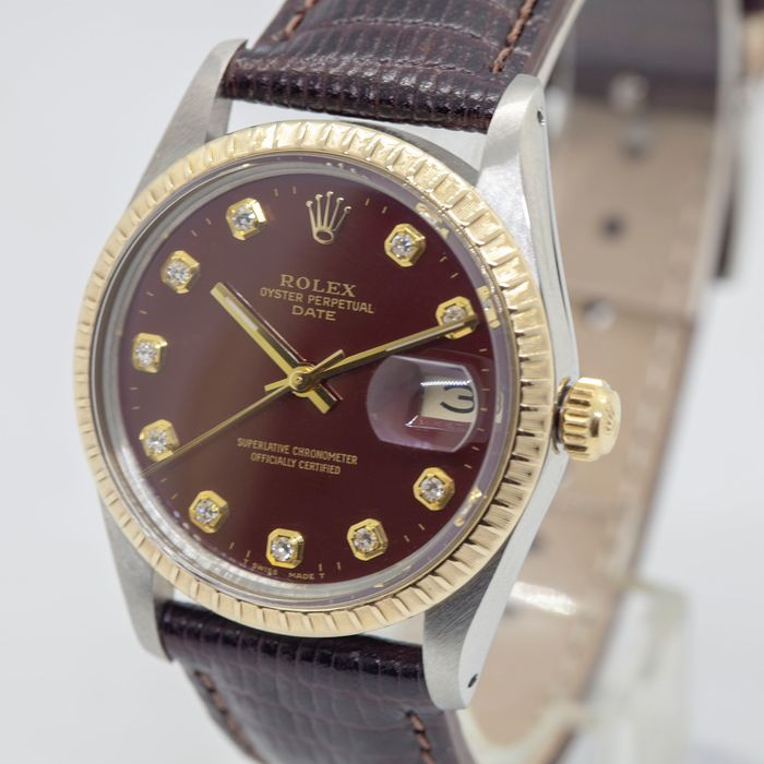 Rolex - Oyster Perpetual DateJust - 15053 - Homme - 1980-1989