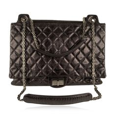 Chanel - Quilted Leather Large Reissue 2.55 Accordion Flap Tote bag