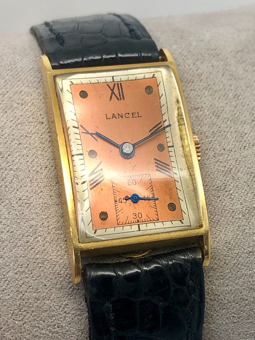 "Lancel - Curvex Art Déco 18k -  ""NO RESERVE PRICE"" - 男士 - 1930s"