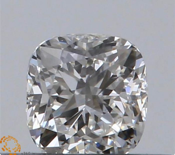 1 pcs Diamond - 0.52 ct - Cushion - F - VVS1
