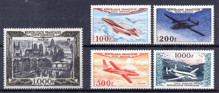 France 19501954 Airmail Maury 2933 Catawiki