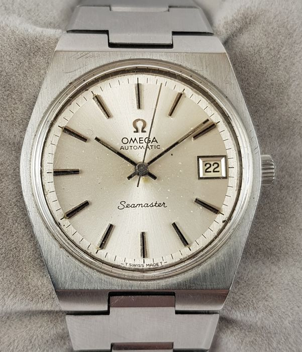 """Omega - Seamaster - """"NO RESERVE PRICE"""" - 1660125 - Homme - 1970-1979"""
