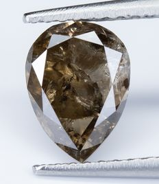 Diamante - 1.71 ct - Marrom extravagante natural - I3  *NO RESERVE*