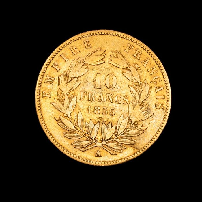 10 Francs 1855-A Napoleon III - Or